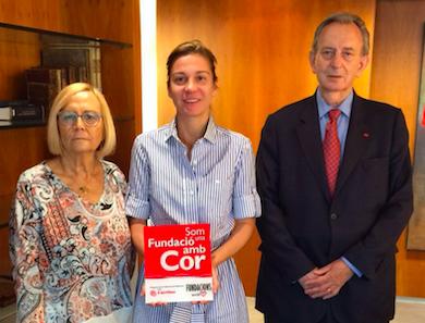 Càritas agradece a Fundación Áurea sus 6 años de apoyo