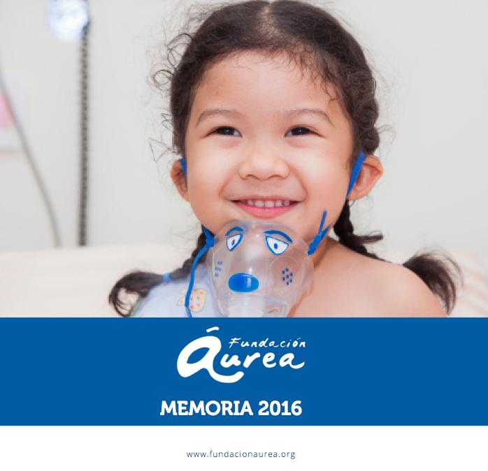 Fundación Áurea publica su Memoria 2016