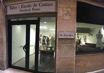 Fundació Roure y el taller de costura Emili Papirer
