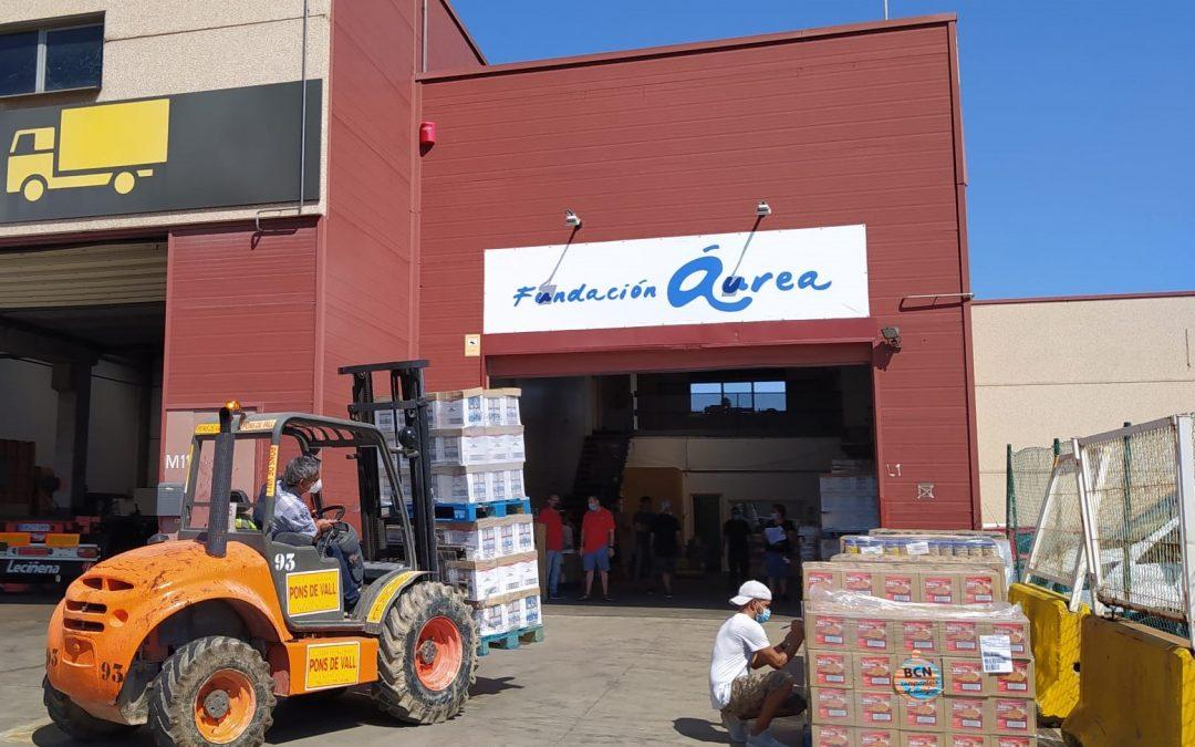 Actualidad de nuestro proyecto Alimentos Solidarios