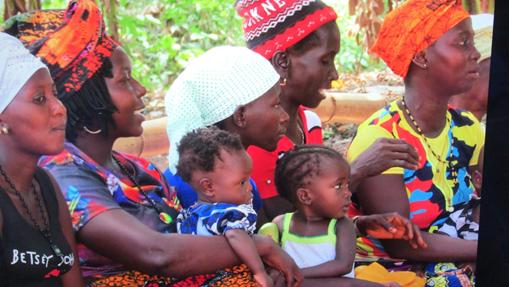 Seguimos apoyando la lucha contra la malnutrición infantil en Sierra Leona